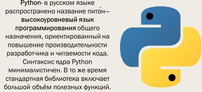 python что значит